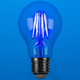 40W Equivalent Blue 4W LED Dimmable Standard Party Bulb