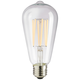 75 Watt Equivalent Clear 8 Watt LED Dimmable Edison Bulb
