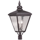Cambridge 30 1/2 inch High Bronze Outdoor Post Light