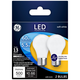 60W Equivalent Frost 5.5W Filament LED Dimmable Bulb 2 Pack