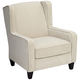 Klaussner Caleb Venice Cream Occasional Accent Chair