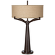 Tremont Industrial Bronze 2-Light Table Lamp