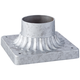 Franklin Park Galvanized Steel Post Mount Adaptor