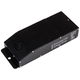 Roswell 2.67 inch Wide Black 12VDC 60W LED Dimmable Power Supply