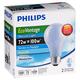 EcoVantage 72 Watt 2-Pack Natural Light Halogen Light Bulbs