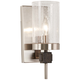 Bridlewood 11 1/4 inch High Brushed Nickel Wall Sconce