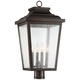 Irvington Manor 24 1/4 inch High Chelesa Bronze Outdoor Post Light
