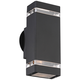 Skyridge 10 1/2 inch High Black Up-Down Outdoor Wall Light
