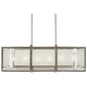 Tyson's Gate 42 inch Wide Nickel Kitchen Island Light Pendant