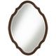 Arabela Bronze Beaded 25 3/4 inch x 35 1/2 inch Oval Cut Mirror