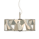 Modern Mosaic I Giclee Glow 20 inch Wide Pendant Light