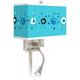 Sputnickle Giclee Glow LED Reading Light Plug-In Sconce