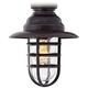 Marlowe Bronze Hooded Metal Cage LED Ceiling Fan Light Kit