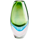 Cyan Design Canica Blue and Green 11 3/4 inch High Large Glass Vase