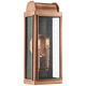Quoizel Danville 19 inch High Aged Copper Outdoor Wall Light