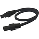 Noble Pro 72 inch Black Undercabinet Light Interconnect Cord