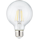 100W Equivalent Tesler Clear 12W LED Dimmable Standard G25