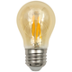 60W Equivalent Amber 5.5W LED Filament A15 Standard Bulb