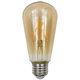 40W Equivalent Tesler Amber 4W LED Dimmable Standard ST19