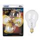 40 Watt Candelabra Base 2-Pack A15 Clear Ceiling Fan Bulb