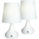 Firefly White Battery Powered LED Table Lamps Set of 2