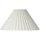 Box Pleat Lamp Shade 7x20.5x12.5 (Spider)