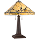 Budding Branch Robert Louis Tiffany Lamp with Table Top Dimmer