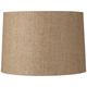 Hardback Tan Paper Drum Shade 15x16x11 (Spider)