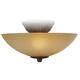 Scavo Glass Pull-Chain Ceiling Fan Light Kit