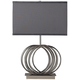 Dimond Ekersall Open Circles Base Chrome Table Lamp