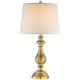 Fairlee Antique Brass Candlestick Table Lamp