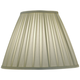 Stiffel Ivory Shadow Box Pleat Empire Shade 8x17x13 (Spider)