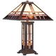 Robert Louis Tiffany Alfred Mission Tiffany Table Lamp