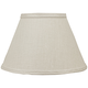 Bone Linen Empire Lamp Shade 10x18x13 (Spider)