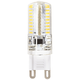 40 Watt Equivalent Clear 4 Watt Dimmable G9 LED Bi-Pin Bulb