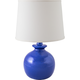 RiverCeramic® Bristol Gloss Bristol Blue Table Lamp