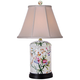 Floral Jar Porcelain Accent Table Lamp