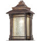 Hickory Point 16 1/2 inch High Bronze Outdoor Pocket Wall Light
