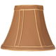 Copper with Gold Trim Lamp Shade 3x6x5 (Clip-On)