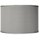 Gray Silk Faux Shade 12x12x8.5 (Spider)