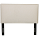 Klaussner Glade Durham Beige Fabric Full/Queen Headboard