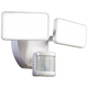 White 2500 Lumen Motion-Activated LED Security Light