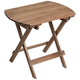 Monterey 20 inch Wide Natural Wood Outdoor Side Table
