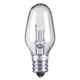 7 Watt C-7 Clear Candelabra Light Bulb