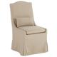 Juliete Hamlet Pebble Slipcover Dining Chair