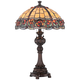 Lite Source Deana Dark Bronze Tiffany Style Table Lamp