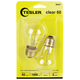 Tesler 60 Watt 2-Pack Clear Ceiling Fan Light Bulbs