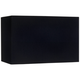 Black Rectangular Hardback Lamp Shade 8/16x8/16x10 (Spider)