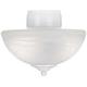 Energy Star® Pull Chain White Finish Alabaster Light Kit