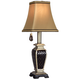 Brompton Collection Black Diamond Pattern Accent Lamp